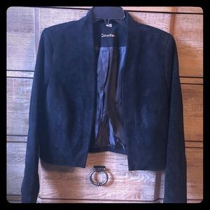 Calvin Klein faux suede jacket M brand new